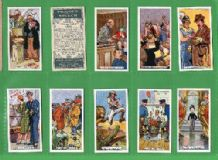 Collectible cigarette cards set Figures of Speech 1936